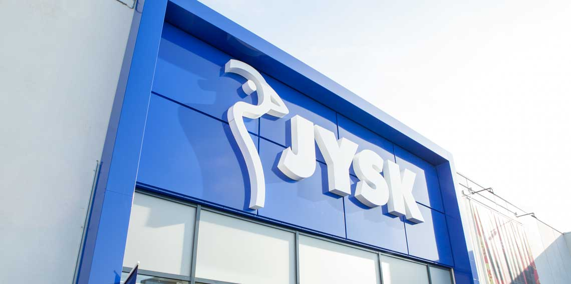 JYSK store front