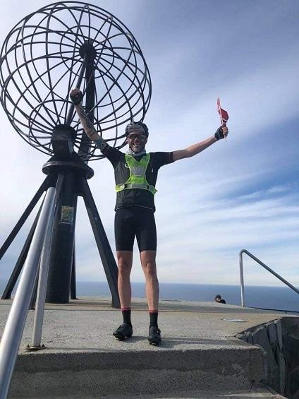 Henning's cycling adventure across Norway