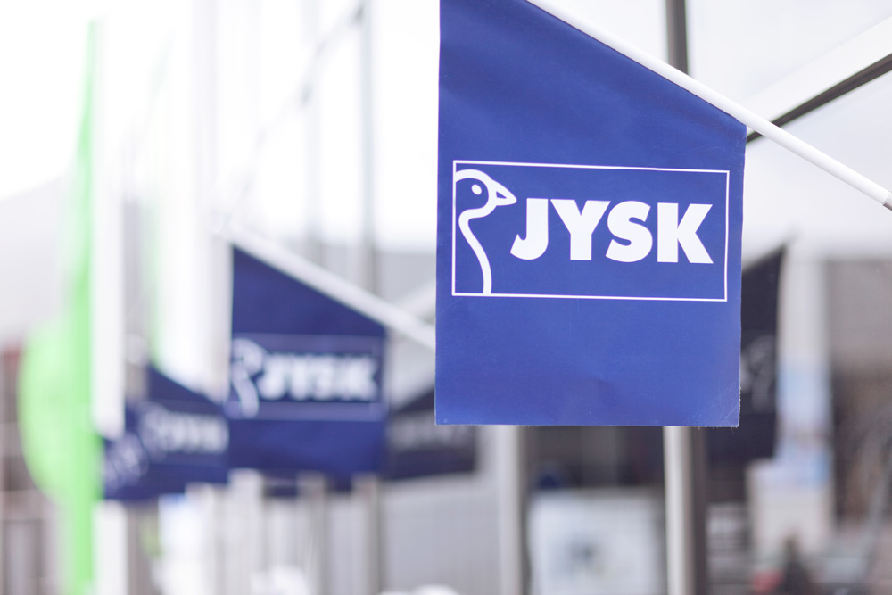 JYSK flags