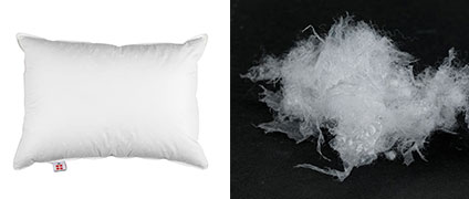 Fossflakes produces pillows for JYSK