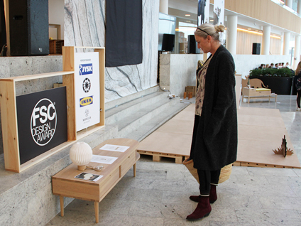 Rikke Blæsild at FSC Design Award 2018