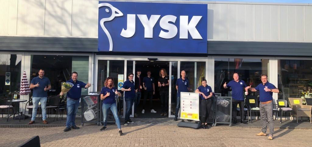 Happy employees from the Store opening in Texel, the Netherlands