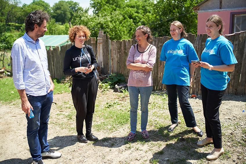 JYSK and UNICEF visit Horgesti