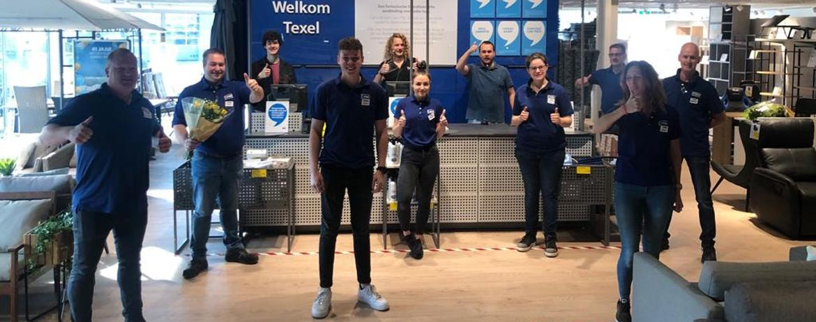 JYSK Netherlands celebrated 100 stores with a silent opening