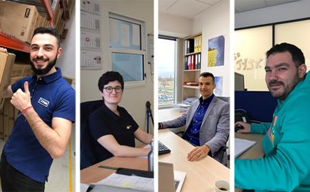 WELCOME TO JYSK – MEET FOUR NEW COLLEAGUES (MARCH 2020)