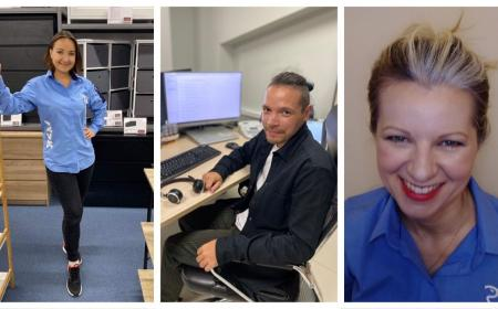 Welcome to JYSK to three new colleagues